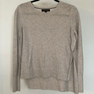 NEVER WORN CASHMERE Banana Republic Grey Sweater